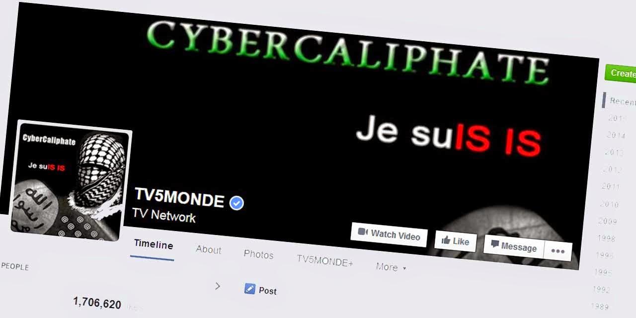 قناة فرنسية شهيرة تتعرض لأكبر عملية قرصنة في تاريخها من قبل داعش !