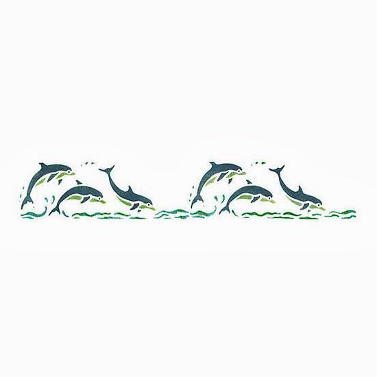 Malvorlagen Delfine Gratis - Mandala - Delfin und Meerjungfrau als gratis Malvorlage für