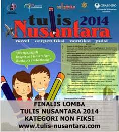 10 Finalis Lomba Tulis Nusantara 2014 Kategori Non Fiksi