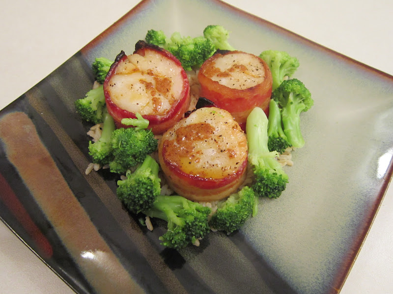 Sweet Beginnings: Bacon-Wrapped Scallops with Chili Butter
