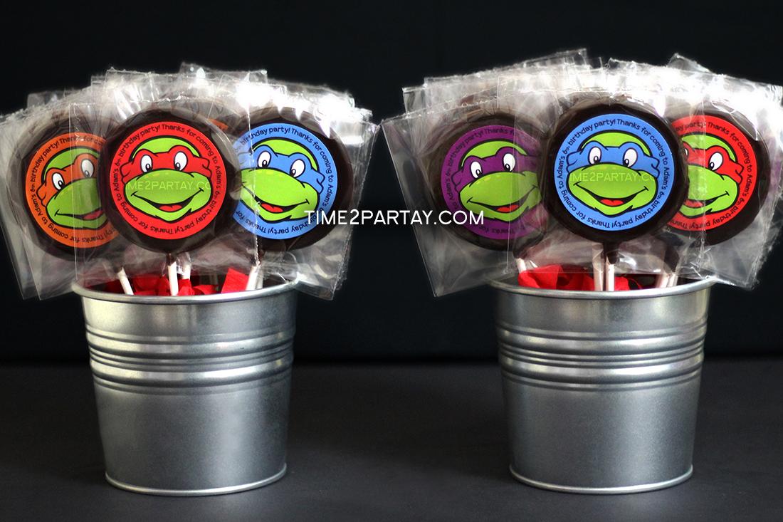 Teenage Mutant Ninja Turtle Themed Favors & Invitation ... - photo#19