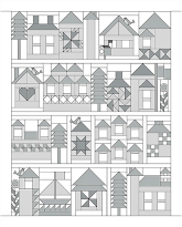 Календарь домики