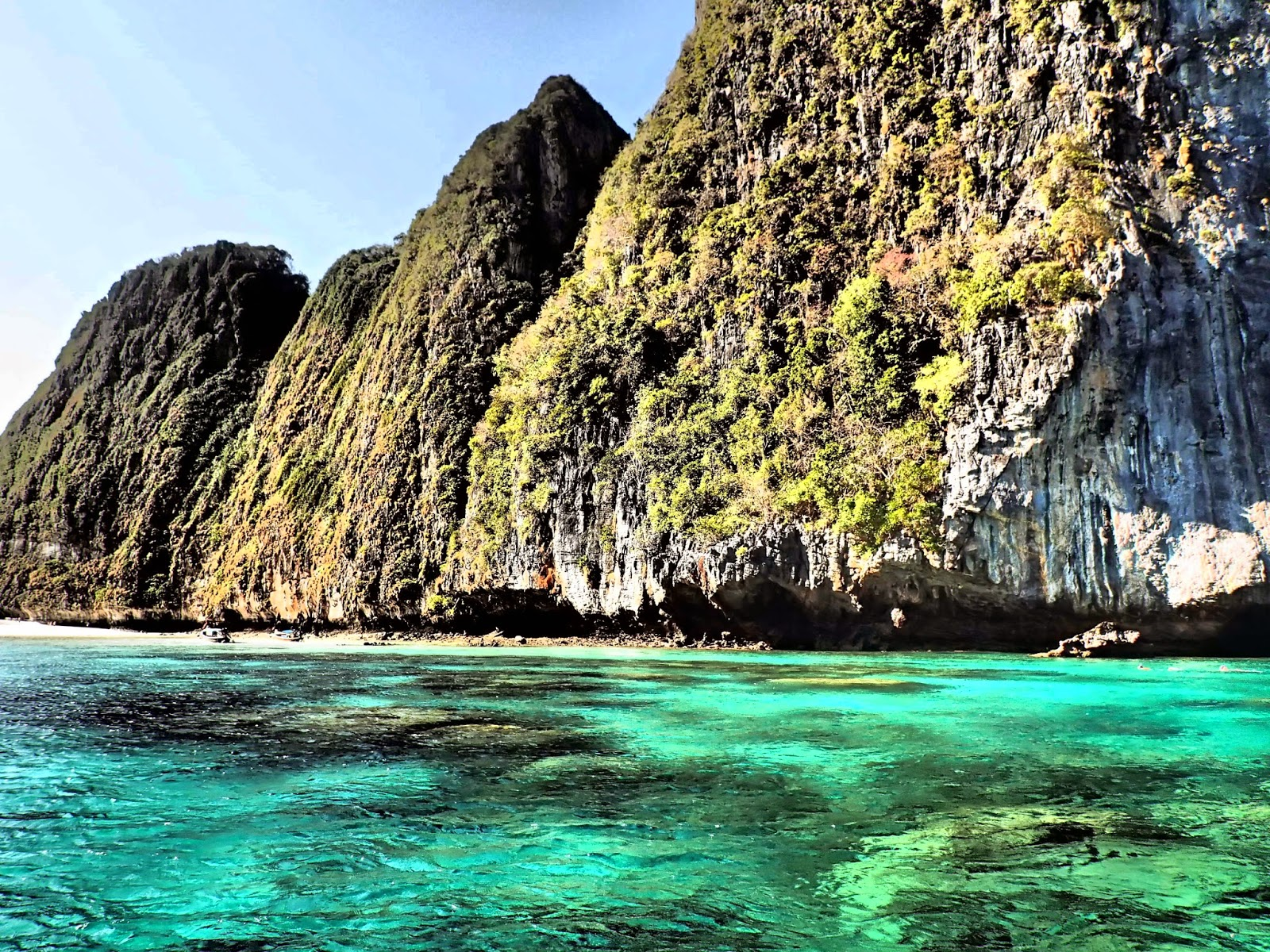 Maya Beach at Phi Phi Islands Thailand
