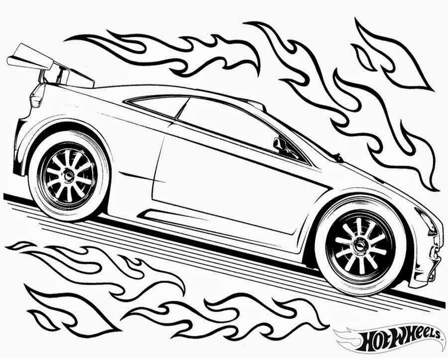 Hot Wheels Coloring Pages 86