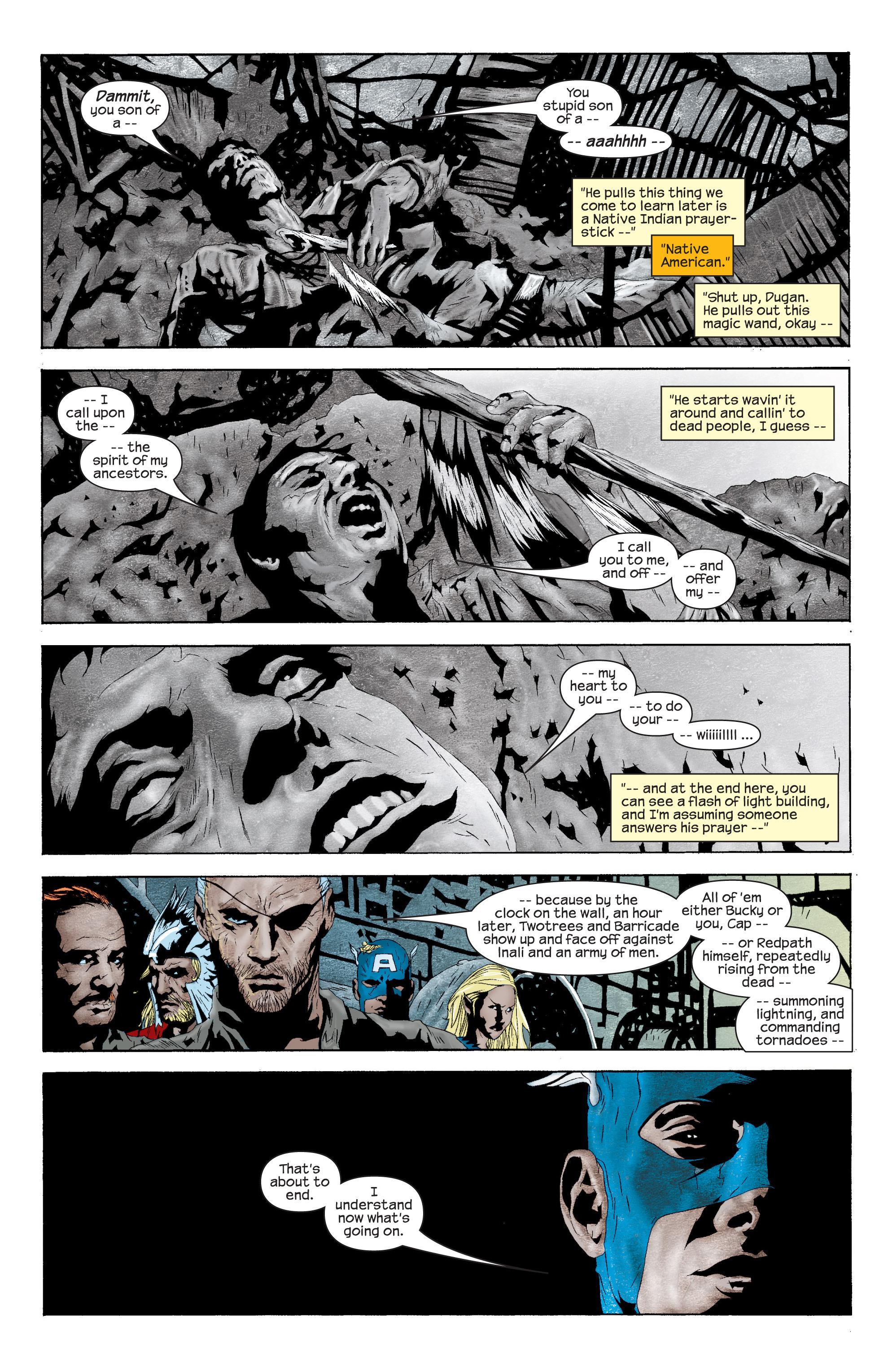 Captain America (2002) Issue #11 #12 - English 6