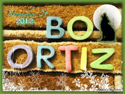 Bo Ortiz November 21 2012