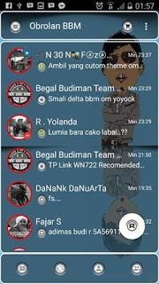 BBM MOD TRANS-7 2.10.0.30 APK