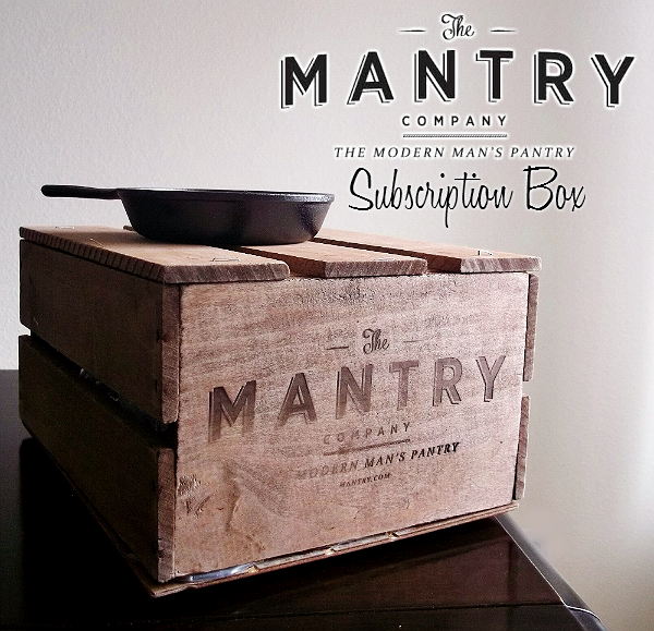MANTRY- Modern Man's Pantry Subcription Box, Hand Picked Artisan Foods and Ingredients