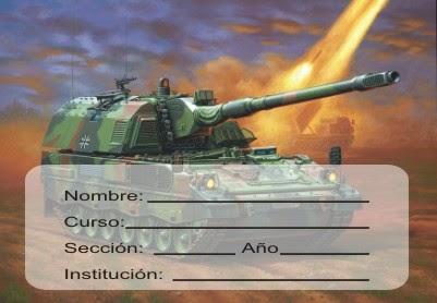 http://etiquetasparacuadernos.blogspot.com/2014/04/tanque-camuflado-en-batalla-para-hombres.html#more