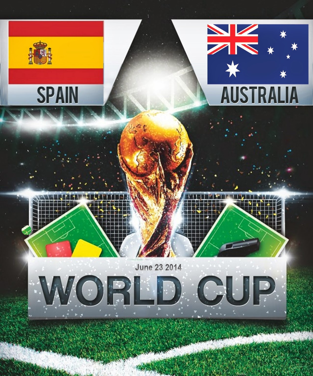 FIFA World Cup 2014 - Spain Vs Australia
