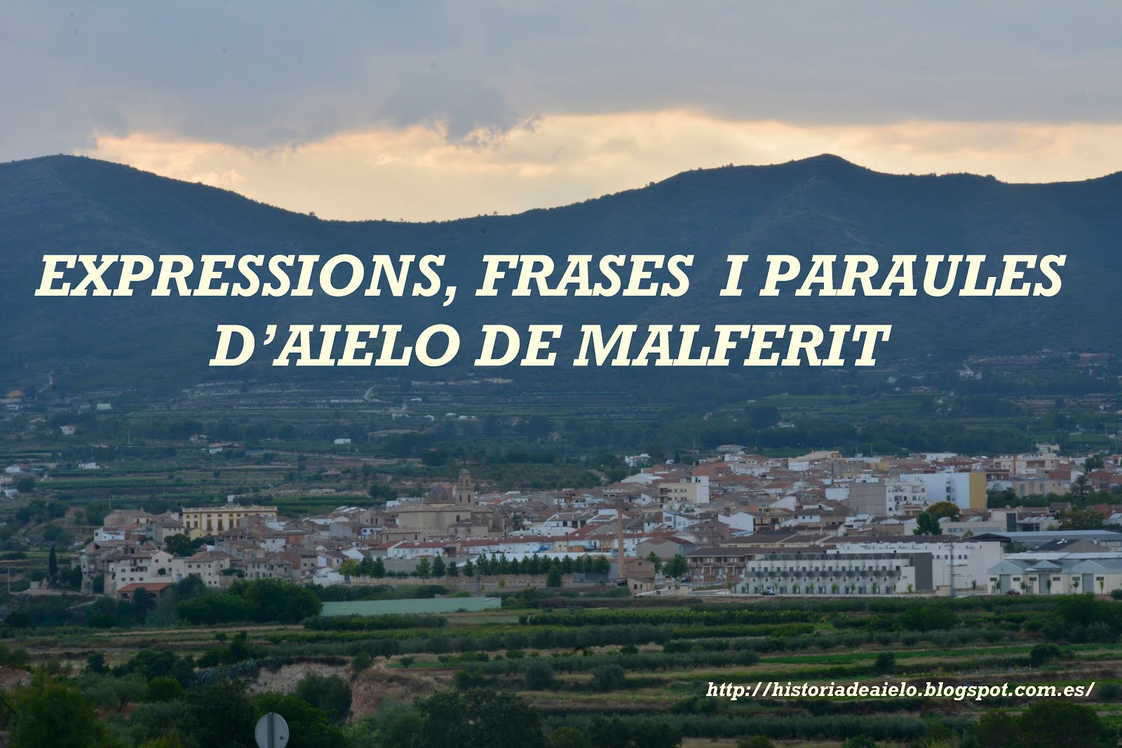 Expressions, frases i paraules d'Aielo