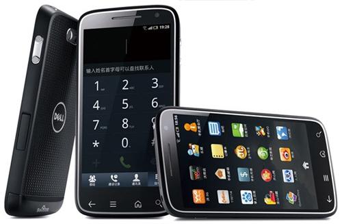 presentation smartphone Dell Streak Pro D43