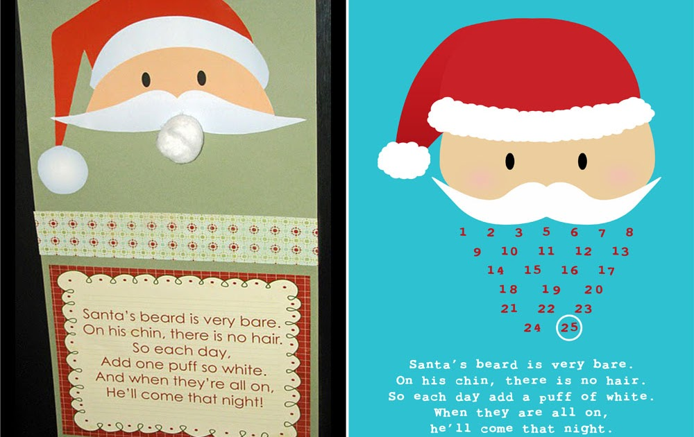 ... : Another Pinterest Inspired Freebie - Christmas Calendar Countdown
