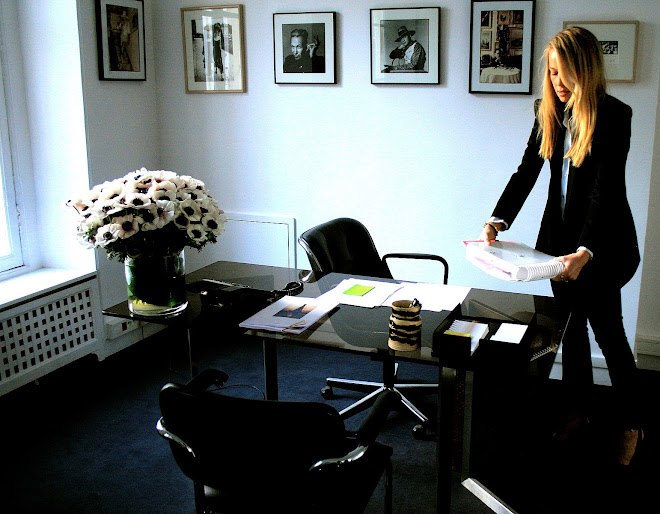 "Decor - Office on Vogue.com ""An American in Paris"" by Cynthia Smith"