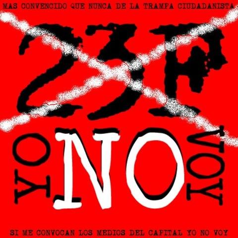Alegría: Convocan hasta los fascistas las mareas ciudadanas del 23-F
