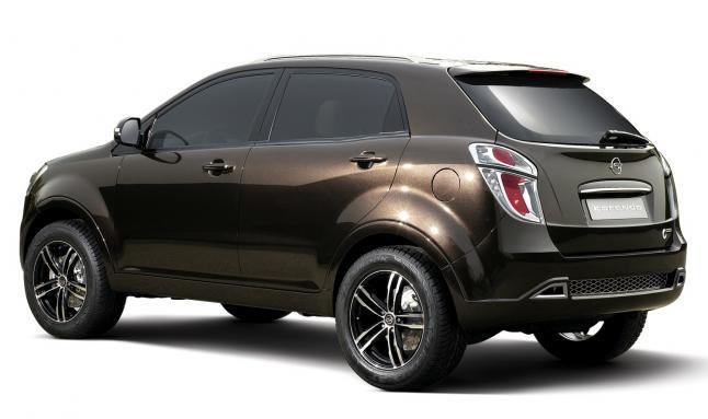 voitures et automobiles le ssangyong korando. Black Bedroom Furniture Sets. Home Design Ideas