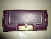 COACH KRISTIN SPECTATOR LEATHER SLIM ENVELOPE WALLET 46005