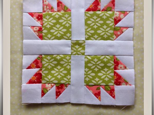 Chatelaine- Free BOW Sampler Quilt Block 15