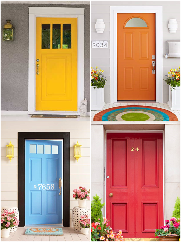 portas decoração