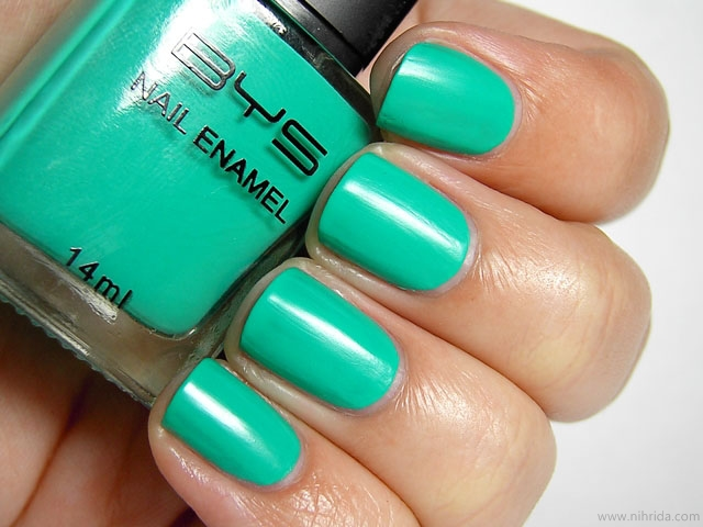 BYS Matte Mint Green