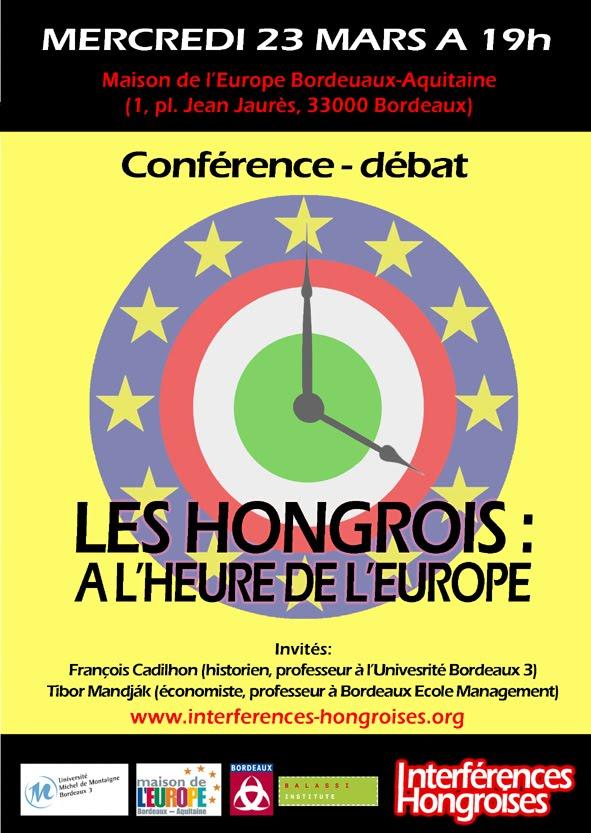 Blog des mardis hongrois de paris interf rences hongroises maison de l 39 europe bordeaux 23 - Maison de la hongrie paris ...