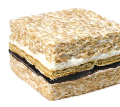 Rice Krispie Treat S'mores - Decor live