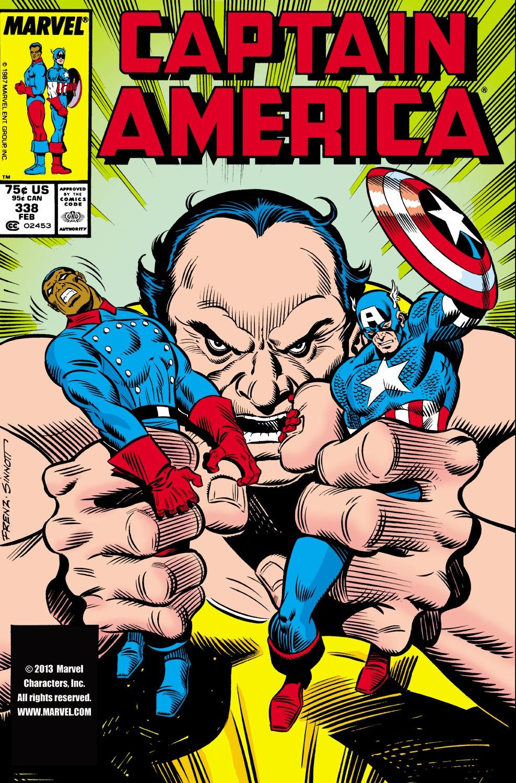 Captain America (1968) Issue #338 #267 - English 1