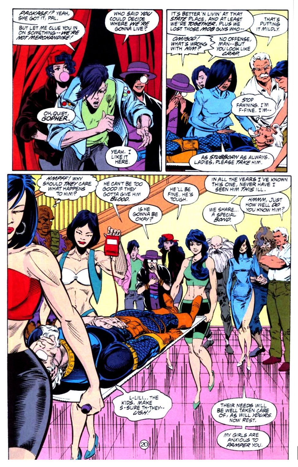 Deathstroke (1991) Issue #15 #20 - English 21