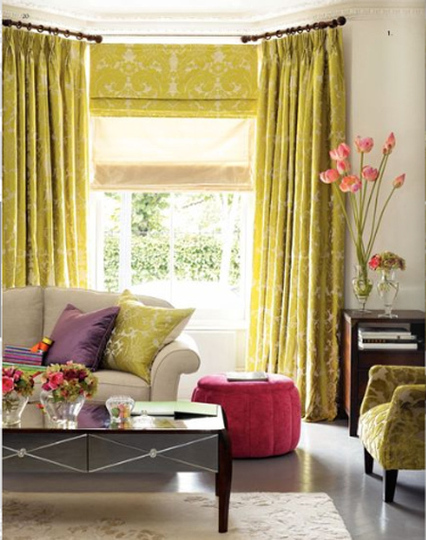 Designing home current trends in window treatments for Living room window treatments