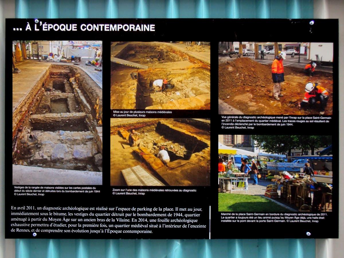 Archéologie : à l'époque contemporaine...