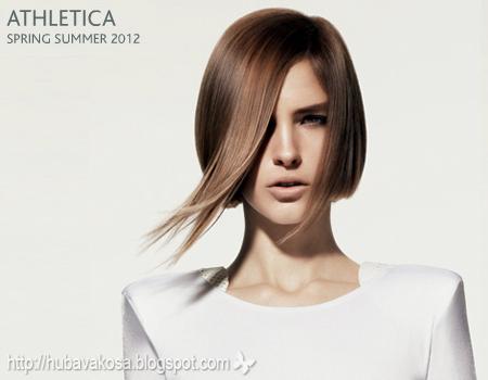 подстрижка каре гладка коса