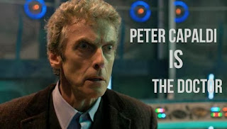 Peter Capaldi as the 12th Doctor in Doctor Who