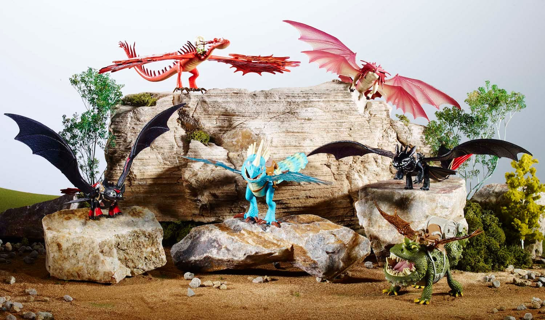 New Dragon Toys… Including Eret?