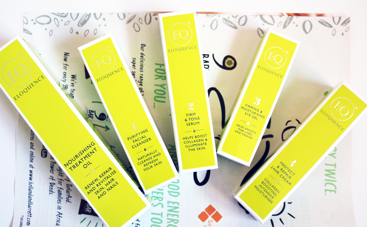 Eloquence Beauty Skincare - Pure Luxury Collection Kit review