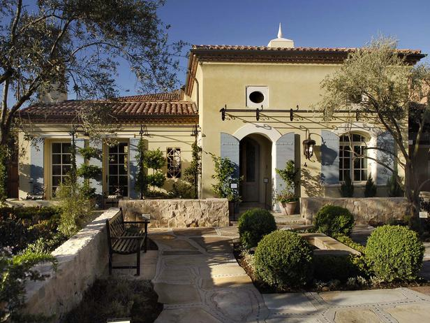 Our french inspired home french inspired house design for Country shutters exterior
