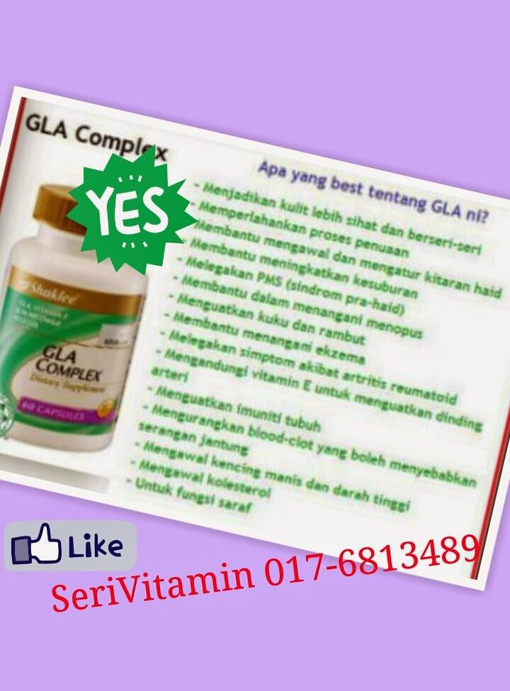 Promo August 2014 : GLA Complex Shaklee