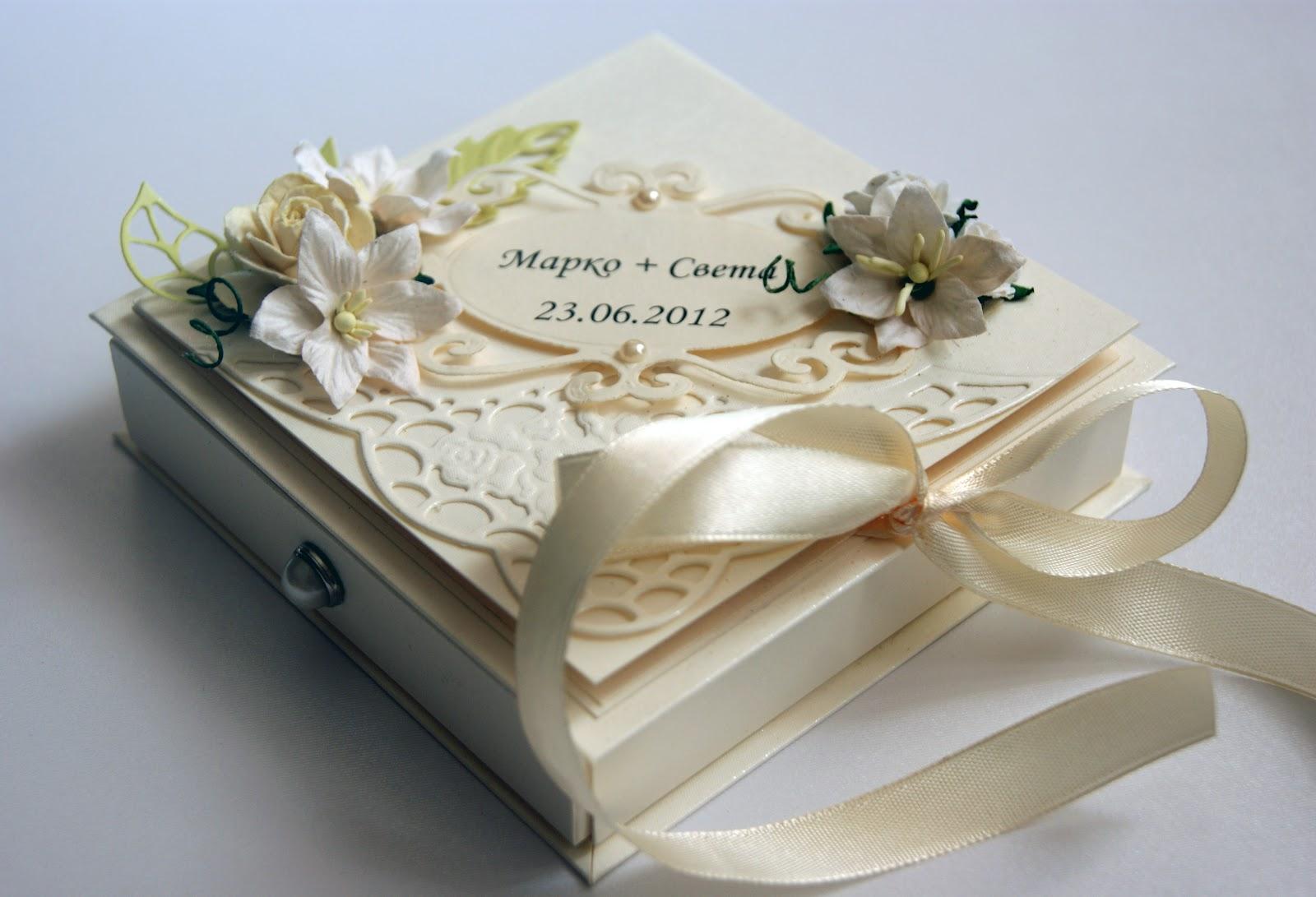 Свадебная коробка для денег мастер-класс