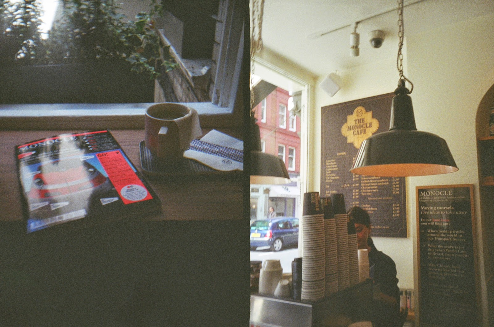 Superheadz Golden Half Camera London Monocle Cafe