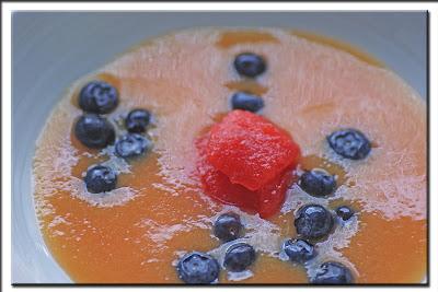 Pfirsich - Melonen - Kaltschale