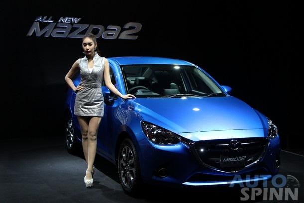 Mazda  sedan 2015| Mazda phiên bản mới sedan| Mazda 2 all new 2015