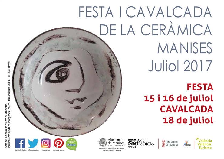 15.07.17 EN LA FESTA DE LA CE- RÀMICA, ELS ARTESANS IXEN AL CARRER