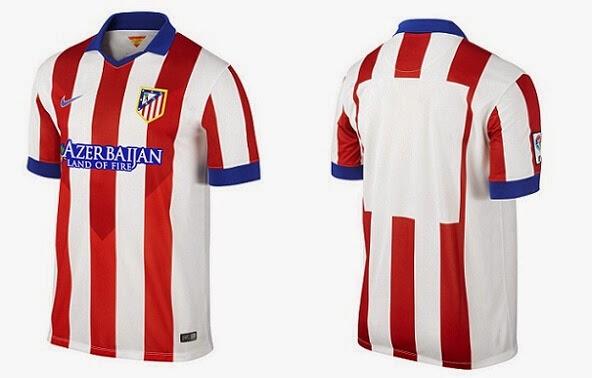 segunda equipacion Atlético de Madrid baratas