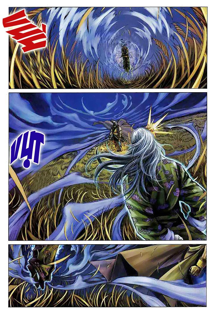 Tứ Đại Danh Bổ Chap 61 - Next Chap 62