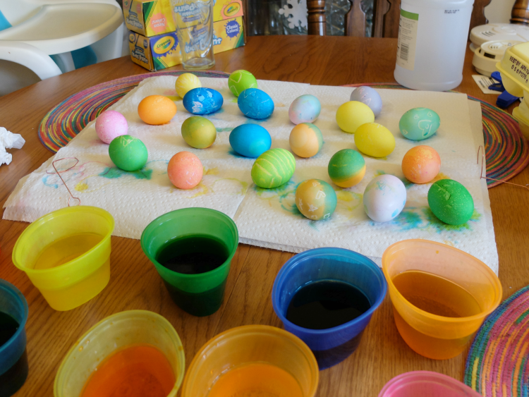 Spring Bucket List - Dye Easter Eggs