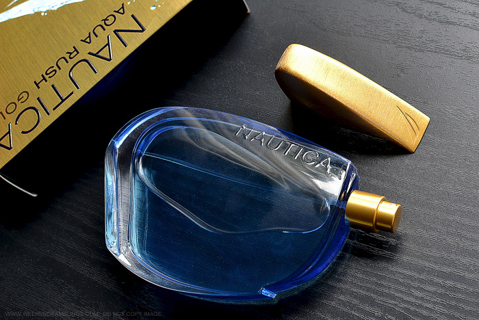 Nautica Aqua Rush Gold Eau de Toilette Perfume for Men Fragrance Blog Review