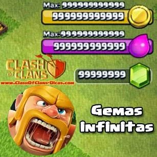 Gemas infinitas para Clash of Clans (Hack para modo offline)