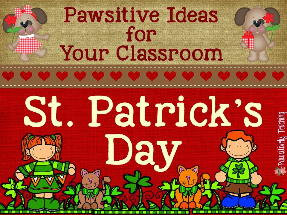 Pawsitive Planner: St. Patrick's Day