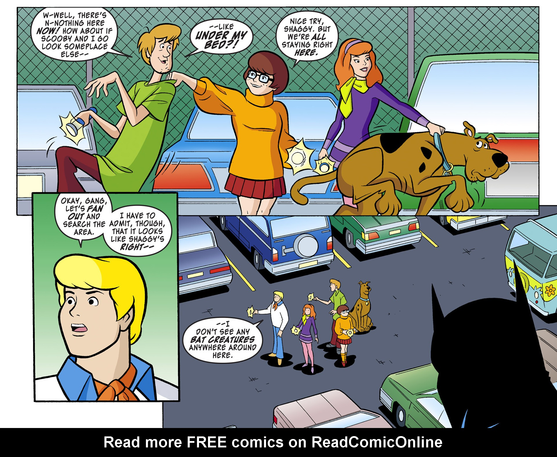 Read online Scooby-Doo! Team-Up comic -  Issue #1 - 4