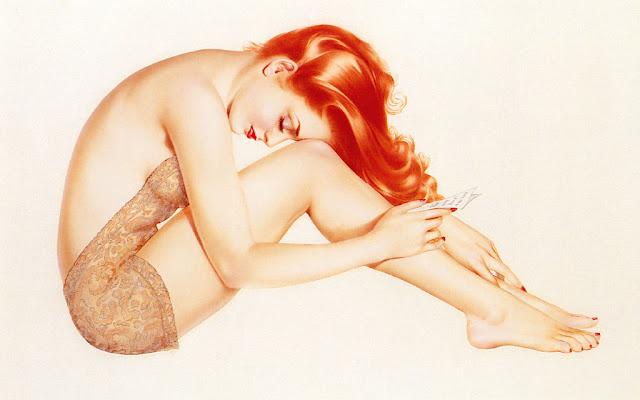 illustration pin up arlberto vargas  rousse