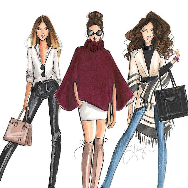 Sprinkle on Glitter blog// My Favorite Fashion Illustrators// HNicholsIllustration